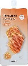 Parfémy, Parfumerie, kosmetika Noční maska na obličej s extraktem medu - Missha Pure Source Pocket Pack Honey