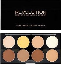 Parfémy, Parfumerie, kosmetika Korektor na obličej - Makeup Revolution Ultra Cream Contour Palette