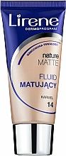 Parfémy, Parfumerie, kosmetika Matující make-up - Lirene Nature Matte Foundation