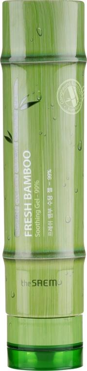 Tělový gel s extraktem z bambusu 99%, uklidňující - The Saem Fresh Bamboo Soothing Gel 99%