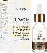 Parfémy, Parfumerie, kosmetika Vysoce koncentrované obličejové sérum - Marion Age Treatment Serum 70+