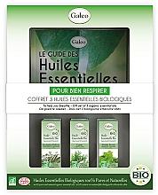 Parfémy, Parfumerie, kosmetika Sada esenciálních olejů K usnadnění dýchání - Galeo To Help You Breath Gift Set (ess/oil/3x10ml)