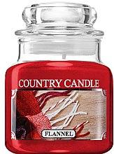 Parfémy, Parfumerie, kosmetika Vonná svíčka ve sklenici - Country Candle Flannel