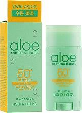 Parfémy, Parfumerie, kosmetika Opalovací stick - Holika Holika Aloe Soothing Essence Water Drop Sun Stick SPF50+