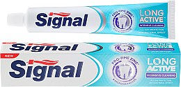 Parfémy, Parfumerie, kosmetika Zubní pasta s mikrogranulí - Signal Long Active Intensive Cleaning