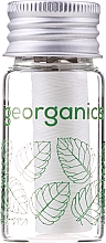 Parfémy, Parfumerie, kosmetika Zubní nit - Georganics Natural Floss Spearmint