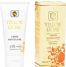 Parfémy, Parfumerie, kosmetika Opalovací krém SPF15 - Yellow Rose Creme Antisolaire SPF 15