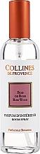Parfémy, Parfumerie, kosmetika Sprej do bytu - Collines De Provence Rose Wood Room Spray