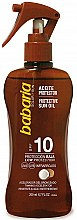 Parfémy, Parfumerie, kosmetika Olej na opalování - Babaria Protective Sun Oil Spf10