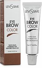 Parfémy, Parfumerie, kosmetika Barva na obočí - LeviSsime Eye Brow Color