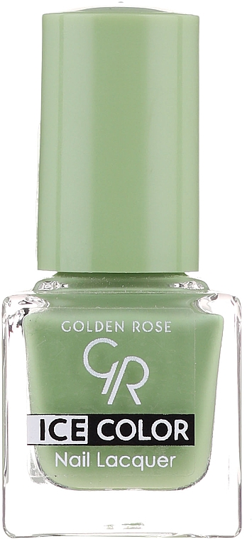 Lak na nehty - Golden Rose Ice Color Nail Lacquer
