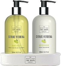 Parfémy, Parfumerie, kosmetika Sada - Scottish Fine Soaps Citrus Verbena Hand Care Set (h/soap/300ml + h/cr/300ml)