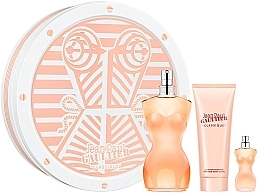 Parfémy, Parfumerie, kosmetika Jean Paul Gaultier Classique - Sada (edt/100ml + b/lot/75ml + edt/5ml)