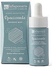 Parfémy, Parfumerie, kosmetika Bioaktivní matující sérum - La Saponaria Matte Effect Serum