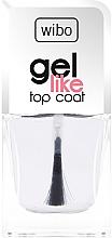 Parfémy, Parfumerie, kosmetika Vrchní lak na nehty - Wibo Gel Like Top Coat