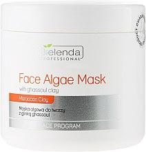 Parfémy, Parfumerie, kosmetika Alginátová obličejová maska s jílem Gassul - Bielenda Professional Algae Face Mask