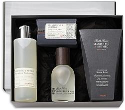 Parfémy, Parfumerie, kosmetika Bath House Spanish Fig and Nutmeg - Sada (edc/100ml + sh/gel/260ml + shave/balm/100ml + soap/150g)