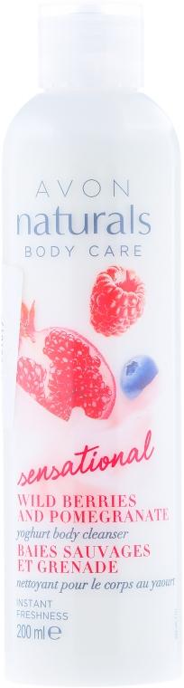 """Krémový gel do sprchy """"Jogurtový"""" - Avon Naturals Body Care — foto N1"""