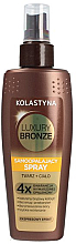 Parfémy, Parfumerie, kosmetika Samoopalovací sprej na tělo a obličej - Kolastyna Luxury Bronze Tanning Spray