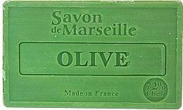 """Parfémy, Parfumerie, kosmetika Mýdlo přírodní """"Oliva"""" - Le Chatelard 1802 Soap Olive"""