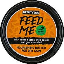 "Parfémy, Parfumerie, kosmetika Tělový olej ""Feed Me"" - Beauty Jar Nourishing Butter For Dry Skin"