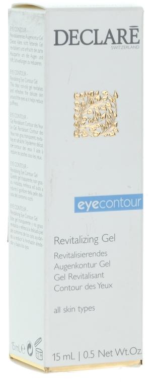 Obnovující gel pro pokožku kolem očí - Declare Revitalising Eye Contour Gel — foto N1