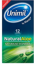 Parfémy, Parfumerie, kosmetika Kondomy, 12 ks - Unimil Natural Aloe