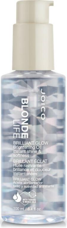 Olej pro diamanový lesk - Joico Blonde Life Brilliant Glow Brightening Oil — foto N1