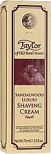 Parfémy, Parfumerie, kosmetika Krém na holení Santalové dřevo - Taylor Of Old Bond Street Sandalwood Luxury Shaving Cream (v tubě)