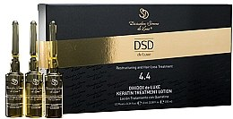 Parfémy, Parfumerie, kosmetika Regenerační lotion s keratinem Dixidox DeLuxe N 4.4 - Divination Simone De Luxe Dixidox De Luxe Keratin Treatment Lotion
