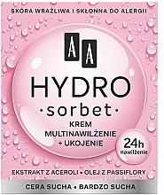 Parfémy, Parfumerie, kosmetika Výživný multihydratační krém na obličej - AA Hydro Sorbet Moisturising & Nutrition Cream