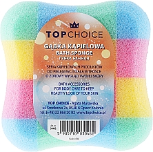 "Parfémy, Parfumerie, kosmetika Houba do koupele ""čtverec"" 30482, různobarevná - Top Choice"