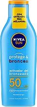 Parfémy, Parfumerie, kosmetika Lotion posilující opalovací efekt Ochrana a opálení - Nivea Sun Care SPF50