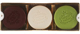 Parfémy, Parfumerie, kosmetika Sada - Essencias De Portugal Senses Golden Edition (soap/3x50g) (3 x 50 g)