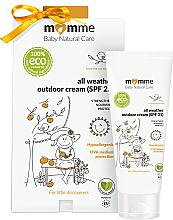 Hypoalergenní ochranný krém - Momme Baby Natural Care All Weather Outdoor Cream SPF25 — foto N1
