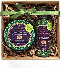 Parfémy, Parfumerie, kosmetika Sada - Sabai Thai Rice Milk (b/scrub/200ml + b/lot/200ml)