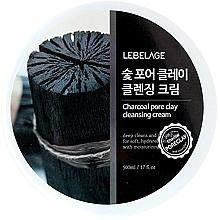 Parfémy, Parfumerie, kosmetika Čisticí pleťový krém - Lebelage Charcoal Pore Clay Cleansing Cream