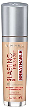 Parfémy, Parfumerie, kosmetika Make-up - Rimmel Lasting Finish 25HR Breathable Foundation SPF 20