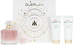 Parfémy, Parfumerie, kosmetika Guerlain Mon Guerlain - Sada (edp/100ml + b/lot/75ml + sh/gel/75ml + edp/mini/5ml)