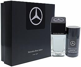 Parfémy, Parfumerie, kosmetika Sada - Mercedes Benz Select Gift Set (edt/100ml + dst/75ml)