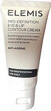 Parfémy, Parfumerie, kosmetika Krém na rty a oční okolí - Elemis Pro-Definition Eye And Lip Contour Cream For Professional Use Only