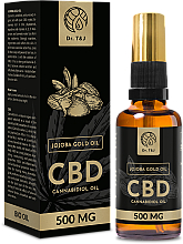 Parfémy, Parfumerie, kosmetika Přírodní jojobový olej CBD 500mg - Dr. T&J Bio Oil