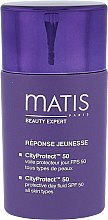 Parfémy, Parfumerie, kosmetika Ochranný fluid na obličej denní - Matis Paris Reponse Jeunesse CityProtect Day Fluid SPF 50