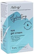 Parfémy, Parfumerie, kosmetika Intenzivně hydratační gel-krém na oči - Kili-g Hydrating Eye Gel Cream