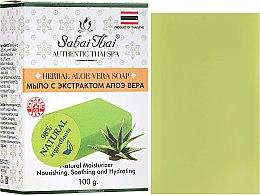 Parfémy, Parfumerie, kosmetika Mýdlo s extraktem z Aloe Vera - Sabai Thai Herbal Aloe Vera Soap