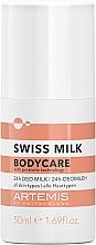 Parfémy, Parfumerie, kosmetika Deodorant - Artemis Swiss Milk 24h Deo Milk