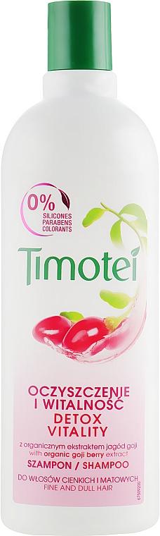 Vitamínový šampon na vlasy - Timotei Explosion Vitality Shampoo