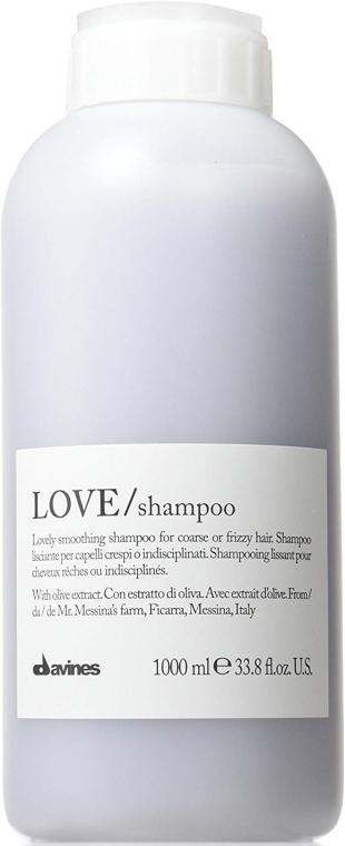 Šampon vyhlazující kudrlinky - Davines Shampoo Lisciante Addolcente — foto N1