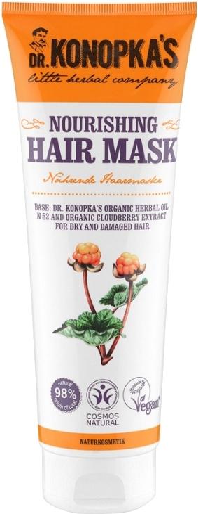 Vyživující maska na vlasy - Dr. Konopka's Nourishing Hair Mask — foto N1