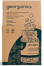 Parfémy, Parfumerie, kosmetika Tablety pro čištění zubů Anglická máta - Georganics Natural Toothtablets English Peppermint (náhradní náplň)